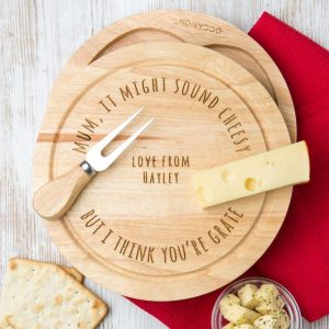 It Might Sound Cheesy Personalised Cheesboard