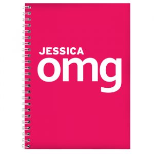 OMG Personalised Notebook