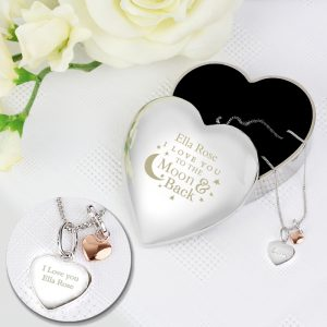 Personalised Pendant Set
