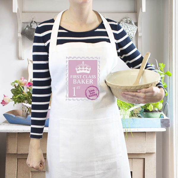 Personalised 1st Class Apron