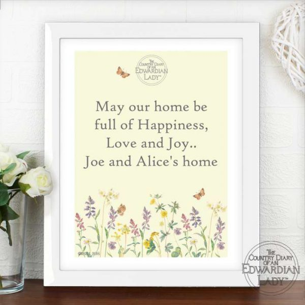 Personalised Framed Print for Grandma