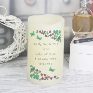 Personalised LED Candle