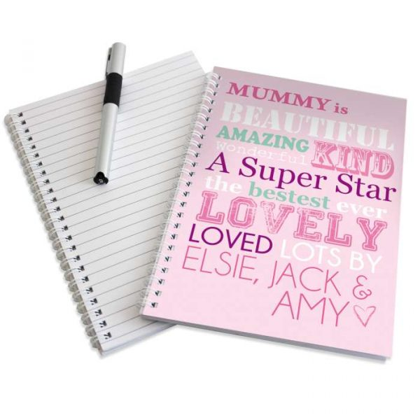 Personalised She Is Notebook