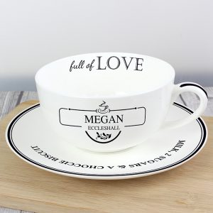 Personalised Teacup - Full of Love