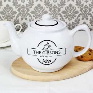 Personalised Teapot - Full of Love