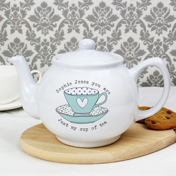 Personalised Teapot - Teacup Design
