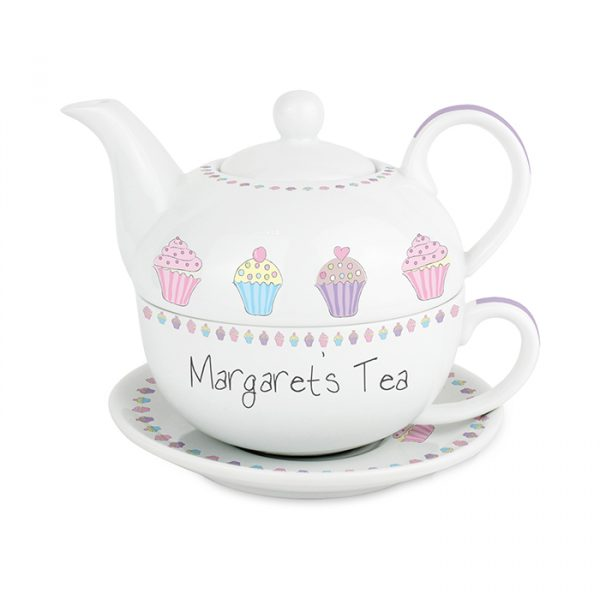 Tea for One - Cupcake Design