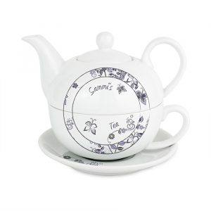 Tea for One - Flower Pattern