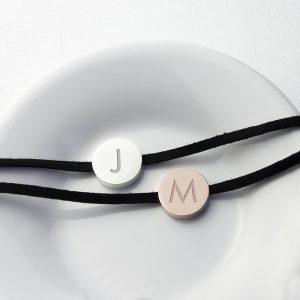 Personalised Always With You Bracelet - Black