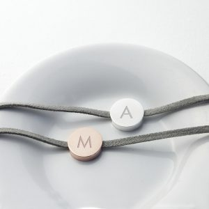 Personalised Initial Leather Bracelet