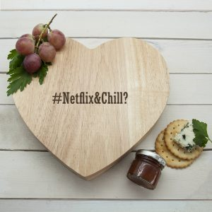 Hashtag Personalised Cheeseboard