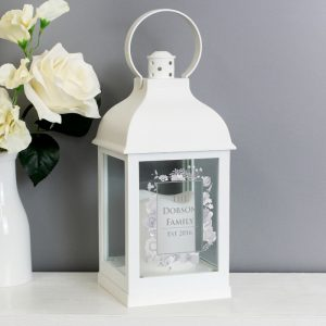 Personalised Lantern - Soft Watercolour
