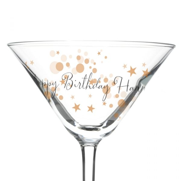 Personalised Cocktail Glass