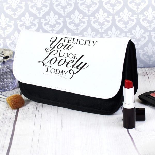 Personalised Make Up Bag - Look Lovely
