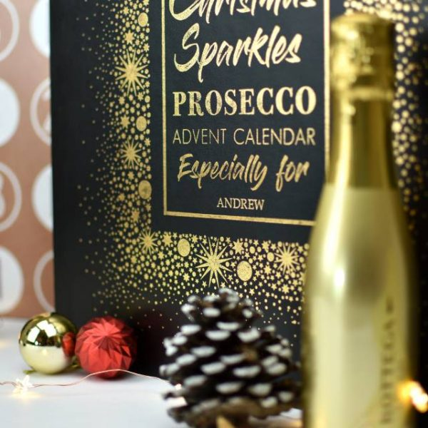 Personalised Prosecco Advent Calendar