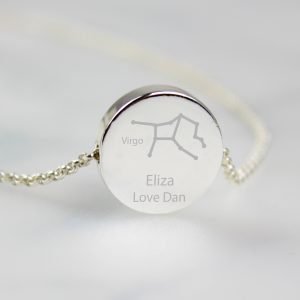 Pisces Personalised Star Sign Necklace