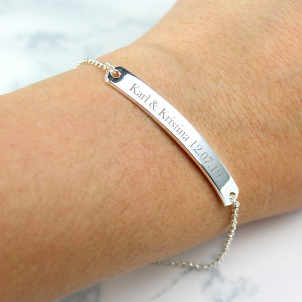 Personalised ID Bracelet for Her