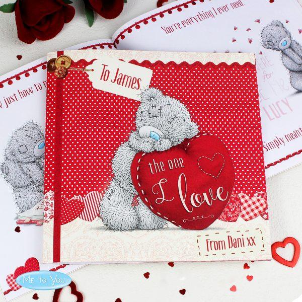 Personalised Valentine's Poem Book