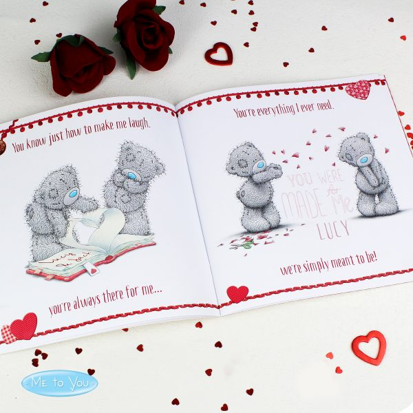 Personalised Valentine's Book