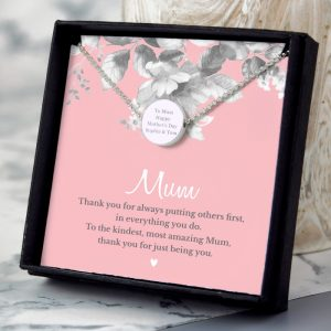 Personalised Mother's Day Necklace