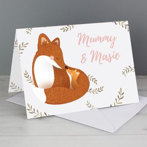 Mummy & Me Personalised Card
