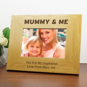 Mummy & Me Personalised Photo Frame