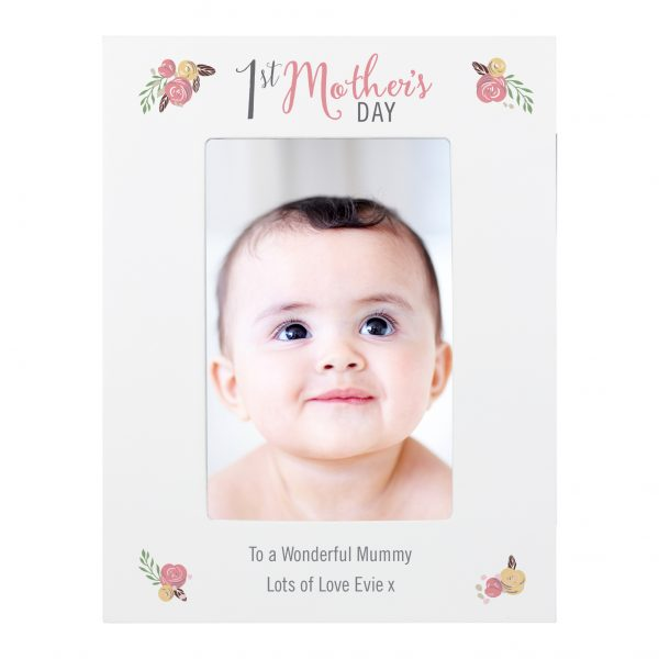 Personalised 1st Mother's Day Photo Frame