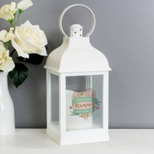 Personalised Mother's Day Candle Lantern