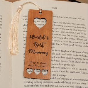 Worlds Best personalised Bookmark