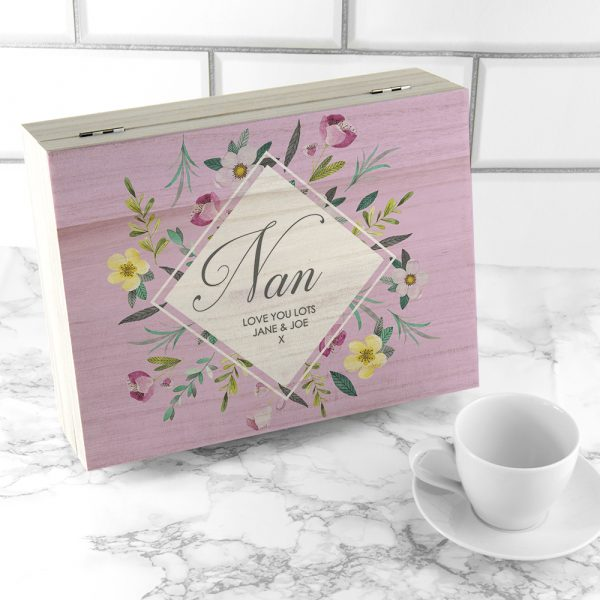 Personalised Mother's Day Tea Box