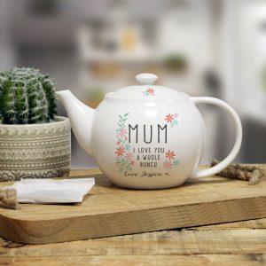 personalised tea pot
