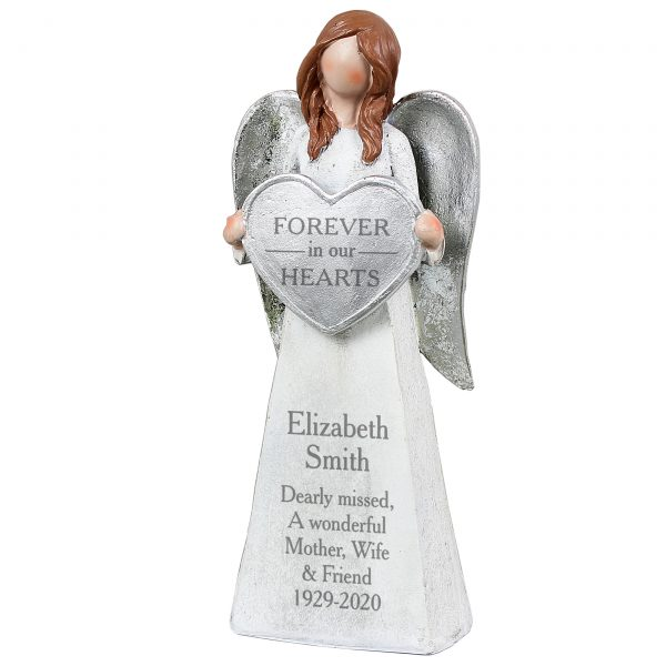 Personalised Memorial Angel Keepsake