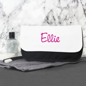 Personalised Island Inspired Makeup Bag