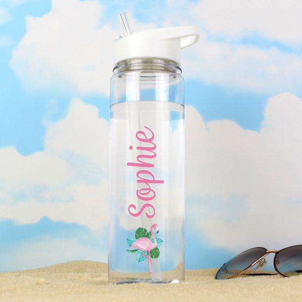 Water Bottle Flamingo