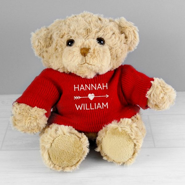 Valentine's Personalised Teddy Bear