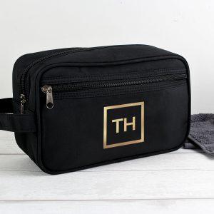Gold Initials Vanity Bag