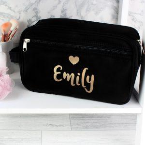 Personalised Vanity Bag