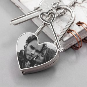 Personalised Love Padlock with Photo