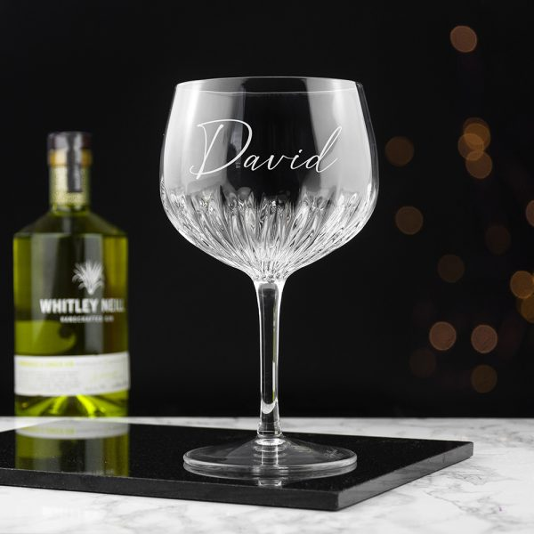 Crystal Gin Glass