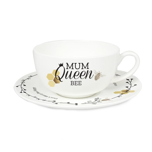 Personalised Teacup & Saucer