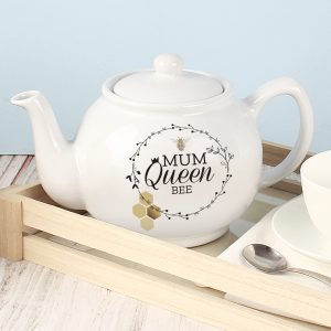 Personalised Bee Teapot