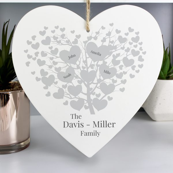 Family Tree Personalised Sign