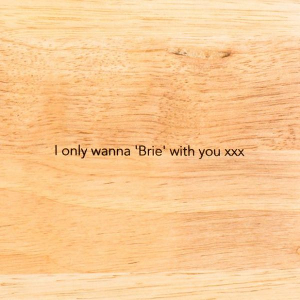 Personalised Chopping Baking Board