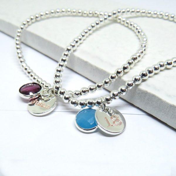 Personalised Birthstone Bracelet