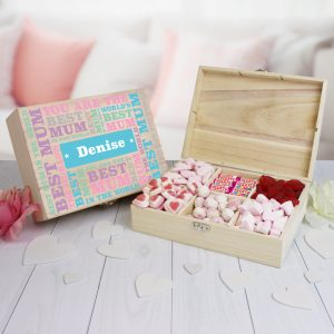 Best Mum Personalised Sweet Box