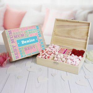 Best Mum Personalised Sweet Box