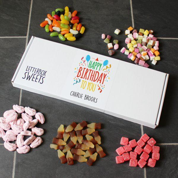 Happy Birthday Letterbox Sweets