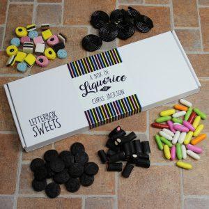 Liquorice Letterbox Sweets