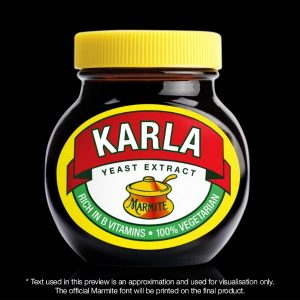 Personalised Marmite