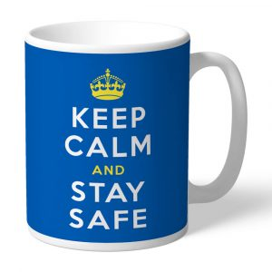Keep Calm and Stay Safe NHS Mug